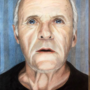 Portretten in kleurpotlood