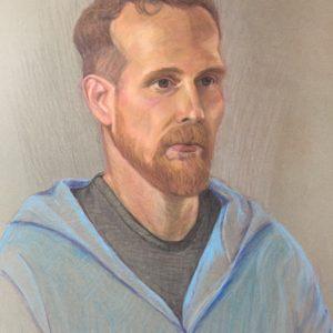 Pastelpotlood portretten
